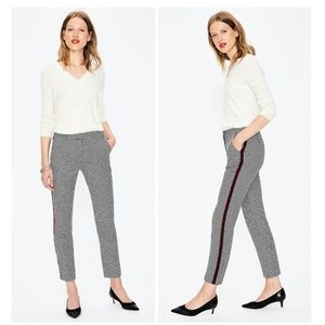 NWOT✨Boden British Tweed High Rise Ankle Pants